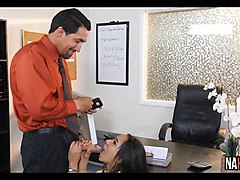 stretching pussy in my office priya price
