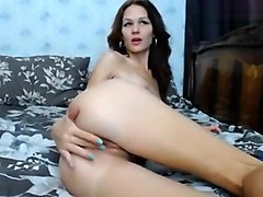 Russian beauty Appollonia plays with her pussy