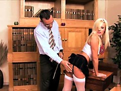 michelle thorne enjoys a giant rod in her mouth then to her wet coochie