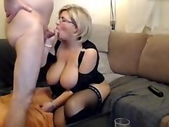 Amazing Amateur video with Blowjob, Mature scenes