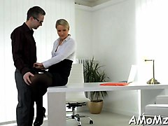 hot mom blows a rock solid boner with pleasure