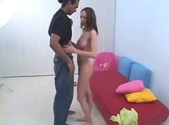 Amateur Russian Teen and Big Black Dick