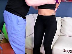 bdsm foot slave and bdsm disgrace assslave yoga