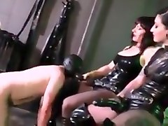 Latex strapon mistress 2