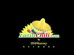 LatinChili Chubby granny Lucia Seductive Showoff