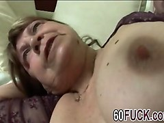 big busty hot granny banged hard by a young man with a fat cock