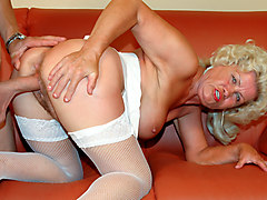 Franscina & Szilard in 70 Year Old Sex Addicts #02, Scene #01 - WhiteGhetto