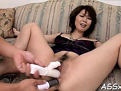 double penetration for asian during wild anal invasion