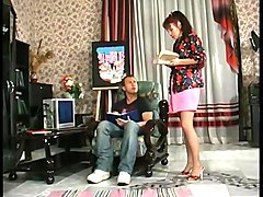 Russian mature fuck with a guy 6