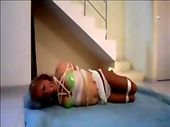 Koryy Love Tied in hogtied