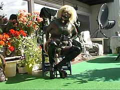 roxina2008 rubber girl in the sun
