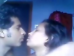 Chubby indian slut sucks and fucks with horny guy