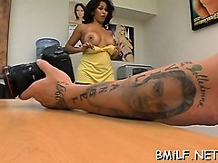 agile mom goes wicked when she has cock at her disposal