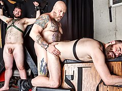 Daddy Cub, Daddy Lucas, and Steve Sommers - BearFilms
