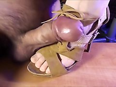 Foot and Shoe Fetish - Cock Torture and Pleasure