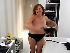 Fabulous Amateur movie with Solo, Grannies scenes