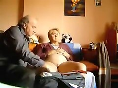 Crazy Homemade movie with Grannies, Cunnilingus scenes