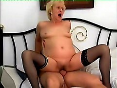 Incredible Homemade clip with Grannies, Stockings scenes