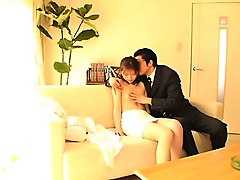 naughty asian japanese milf rides cock