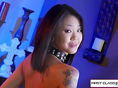 saya song suck and fuck a 9 inches cock and take a huge load in her face