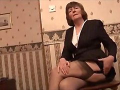 Incredible Amateur clip with Grannies, Solo scenes