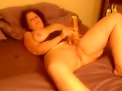 Exotic Amateur video with Grannies, Brunette scenes