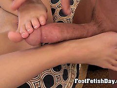 joyful foot goddess tease