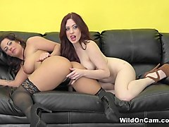 Fabulous pornstars Jessica Ryan, Holly Heart in Hottest Lesbian, Cunnilingus sex video
