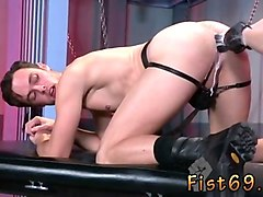male bondage and fist wear gay xxx chronic fisting bottom brandon moore is spending so