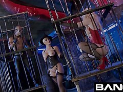 tied up and fucked bondage sex compilation