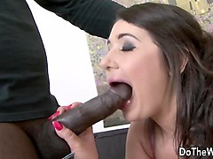 brunette wife katlein ria fucked anally with black cock