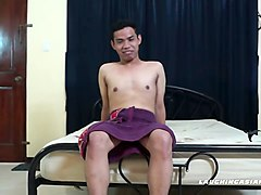 asian twink carlo tied and tickled