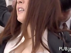 asian slut fingered and banged