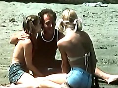exquisite vintage threesome with lascivious white girls