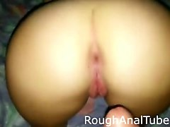 homemade anal fucking with her husband
