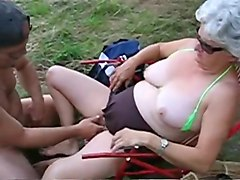 Incredible Amateur record with Big Tits, Grannies scenes