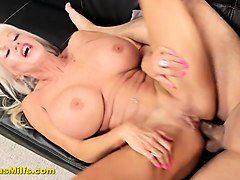 big tit mature whore gets butt fucked