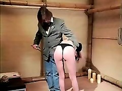 tied up fetish bondage bdsm sub caned in bdsm dungeon