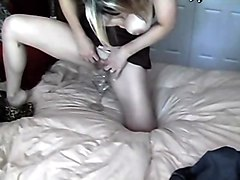 creampie on milf black blonde creampie cum milf