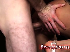 sexy butt plug bondage and pussy slap excited youthful touri