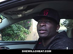 shewillcheat - hot wife fucked by husbands black friend