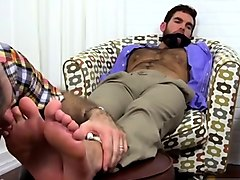 cute gay male porn feet chase lachance tied up, gagged & foo