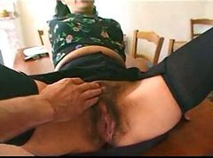 French mature maid satisfies 2 boys-Rayra
