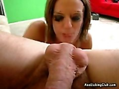 This Teen Slut Loves To Lick And Stick Her Tongue In An Ass Hole