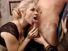 German Classic Mature Lesbians And The Young Boy