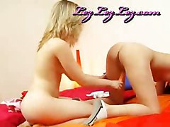 Cute Blonde Teens And Their Vibrator