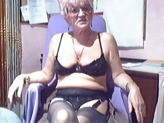 Amateur Webcam Kinky Granny Compilation