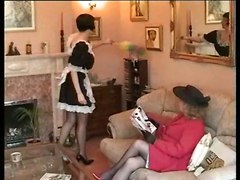 Mature Spanks Maid
