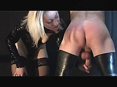 Two German Mistress And Her Slave