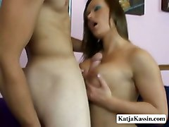 Katja Sucks And Rides Cock